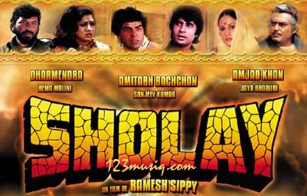 SHOLAY..The everlasting Jay-Biru, Gabbar, Thakur and Basanti saga